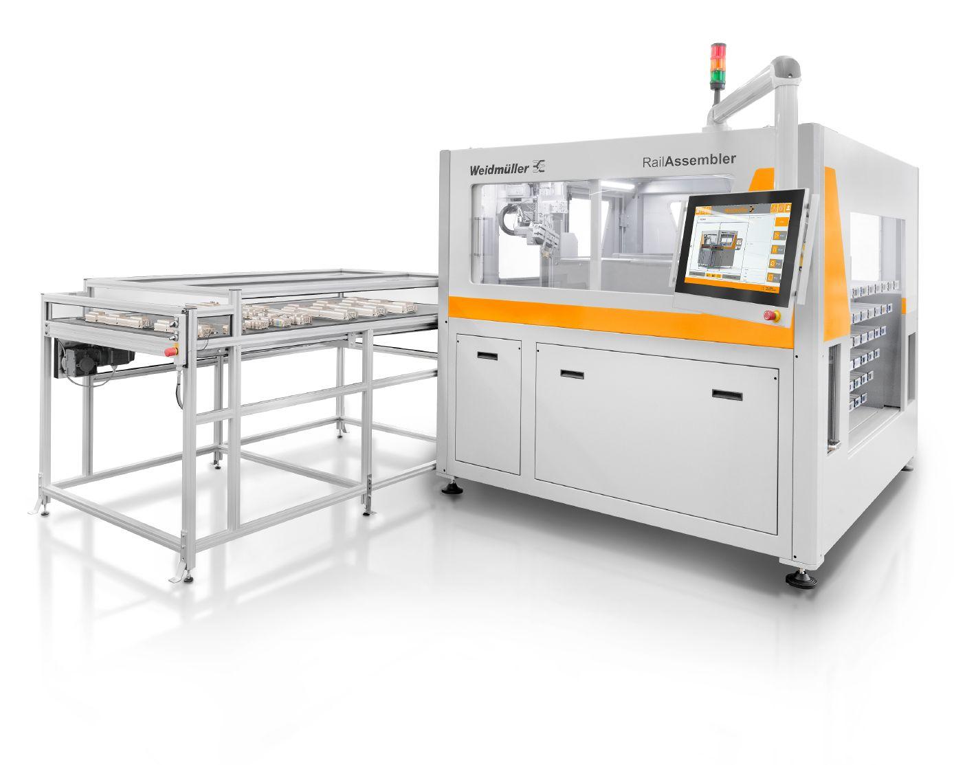 Rychlé označení svysokou přesností– Klippon® Automated RailLaser