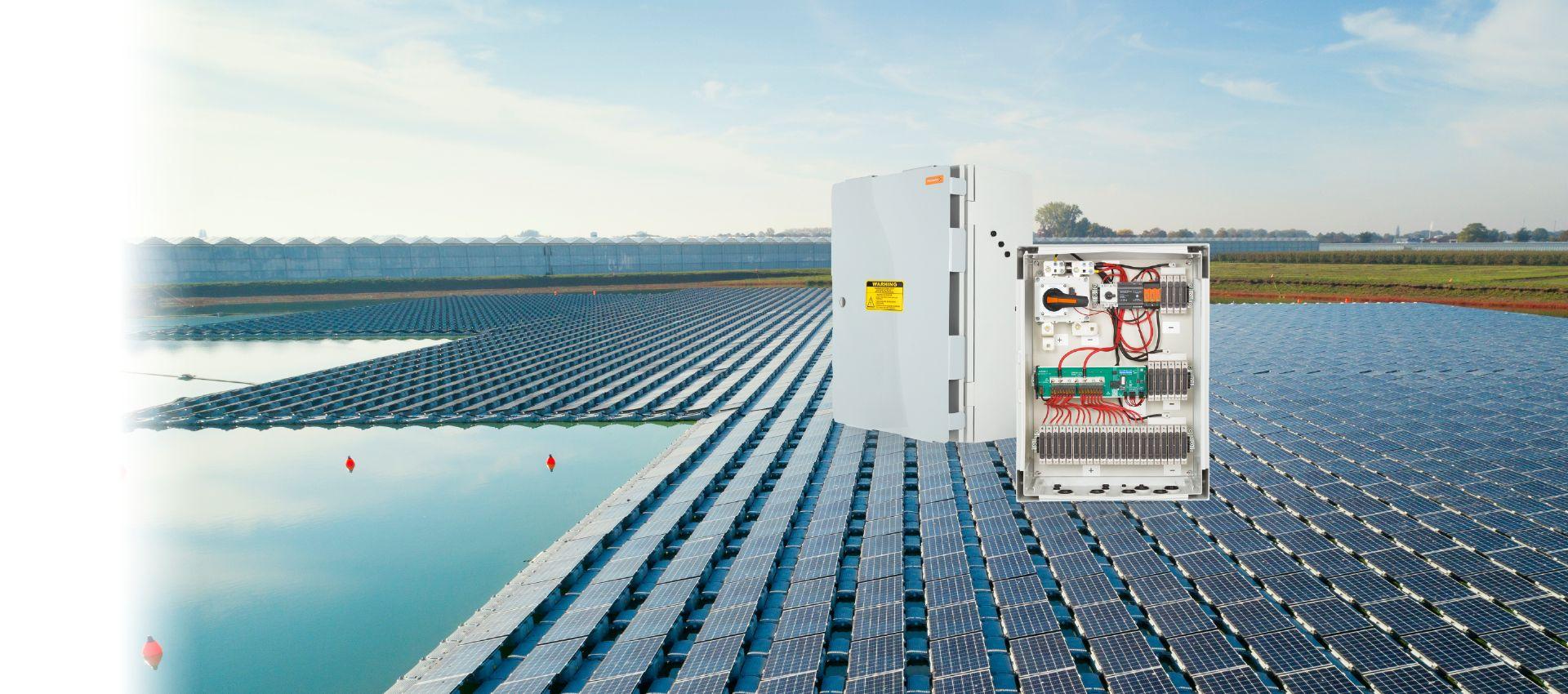 PV Floating DC Generatoranschlusskästen