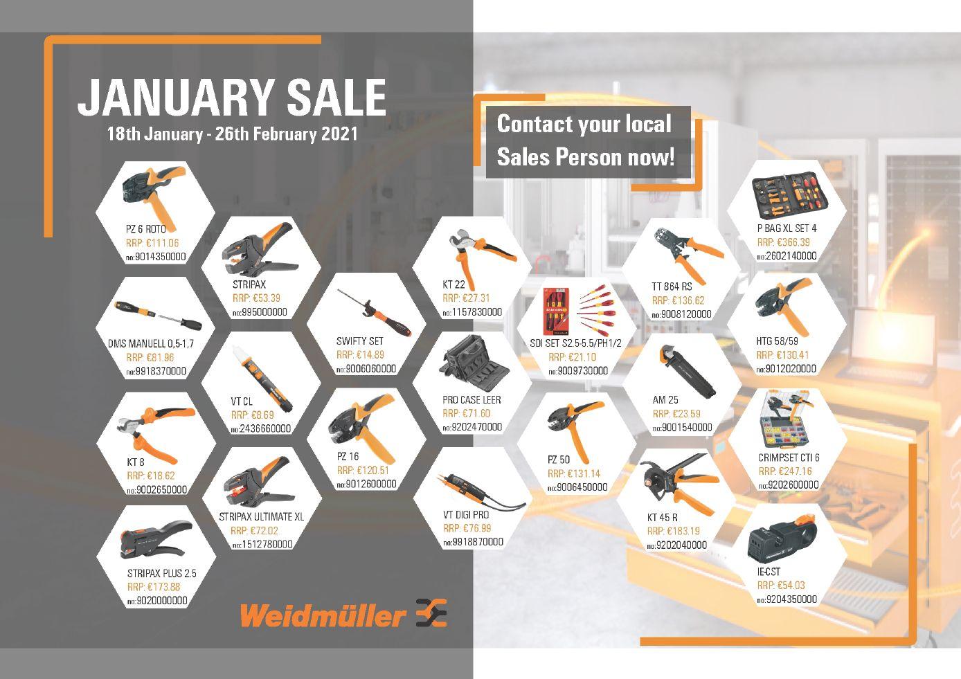 Tools Promotion - Euro Prices