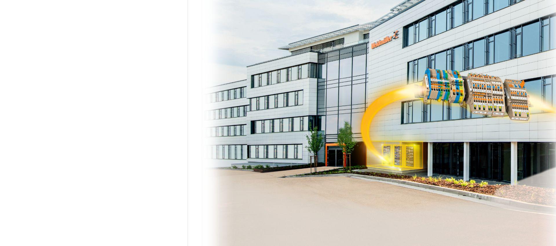 Bornes Klippon® Connect AITB para cableado en instalaciones de edificios