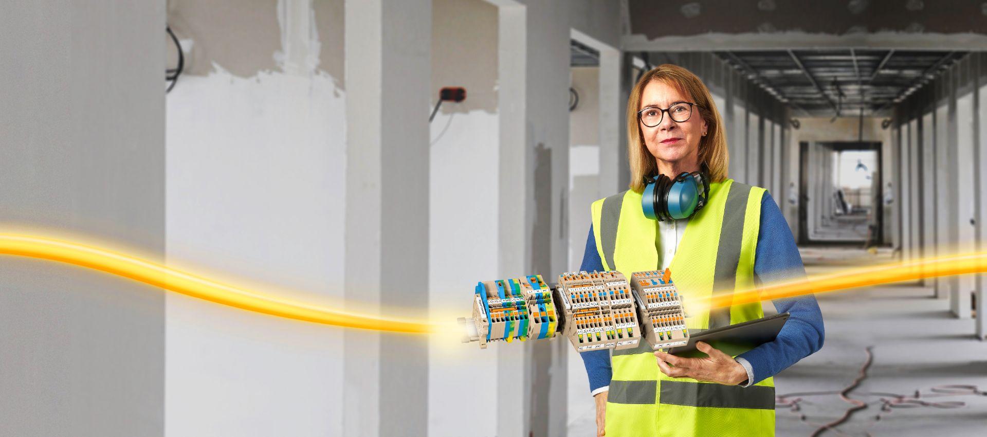 Klippon® Connect Reihenklemmen für die Gebäudeindustrie