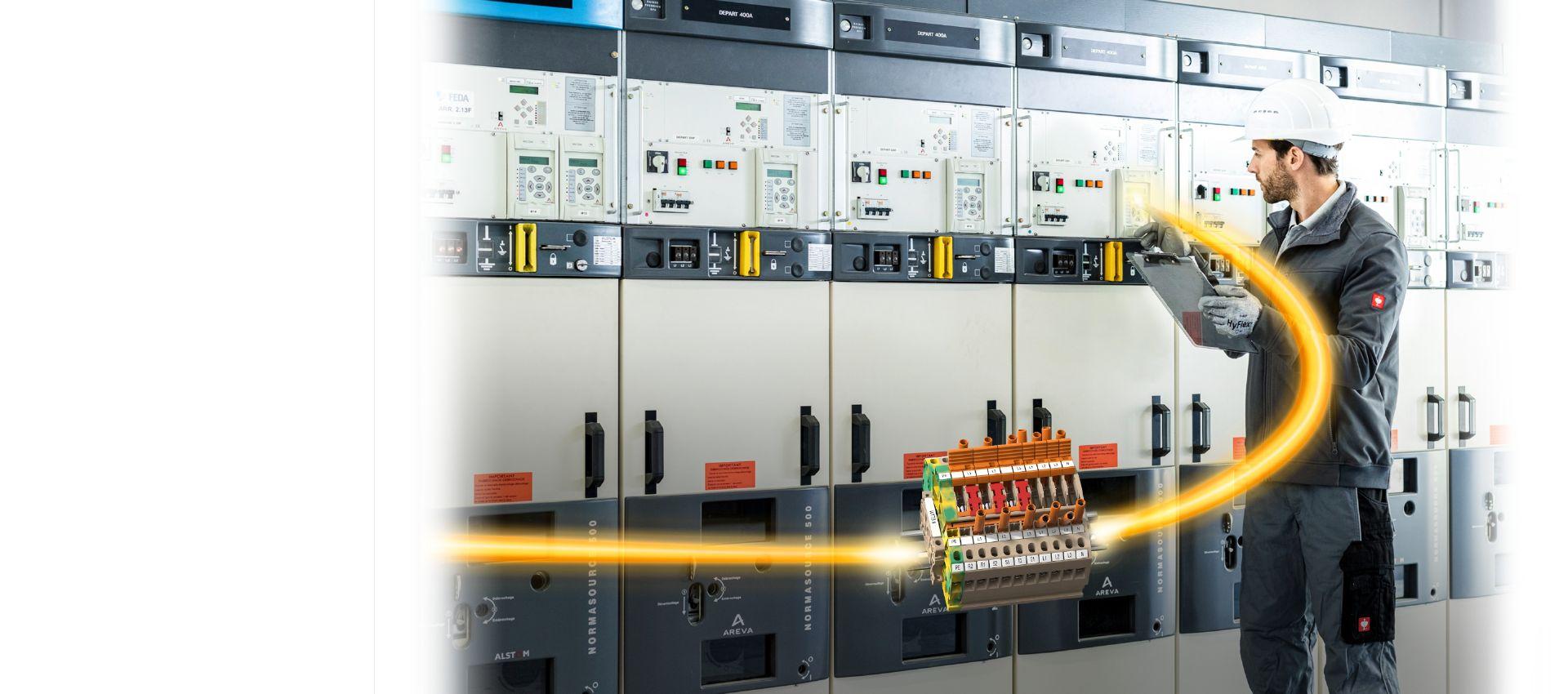 Klippon® Connect TTB Range for instrument transformer wiring