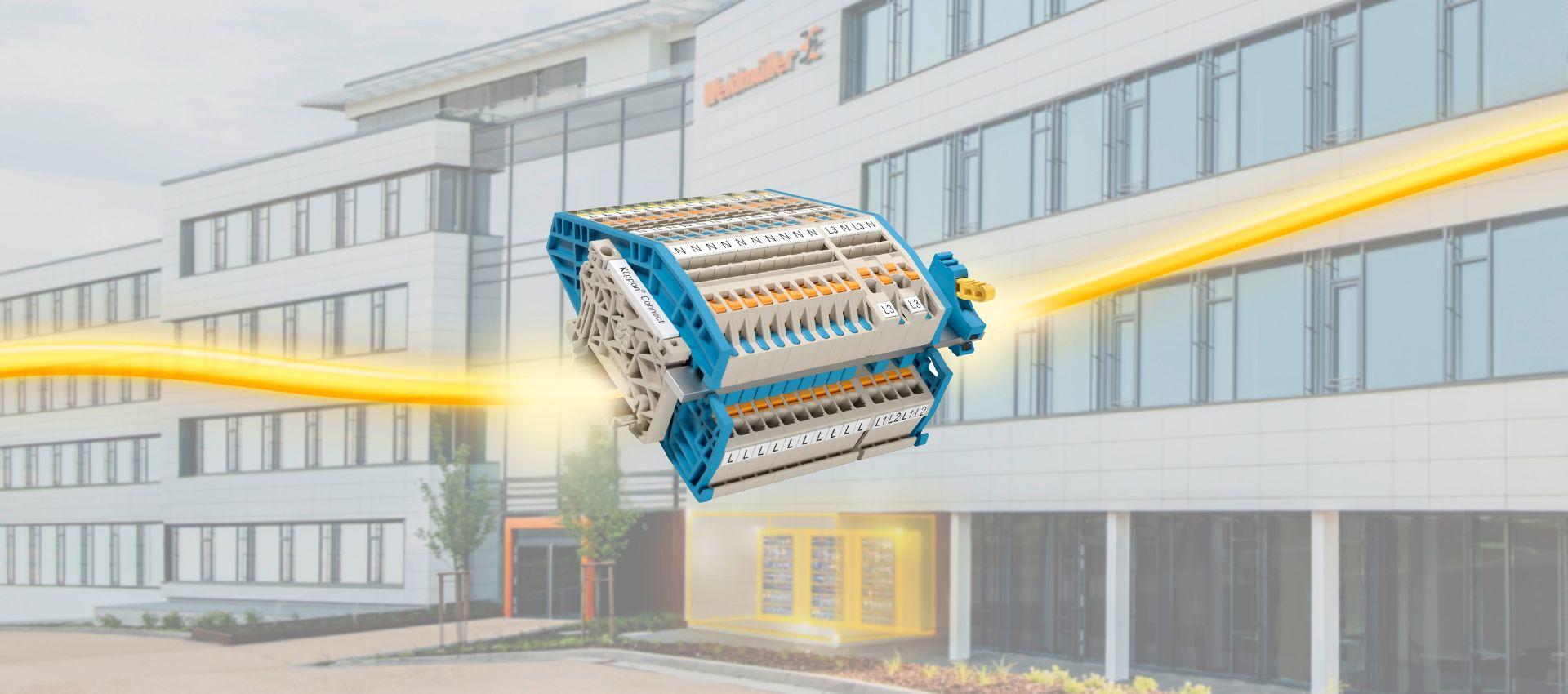 Svorkovnice Klippon® Connect AITB pro elektroinstalaci budov