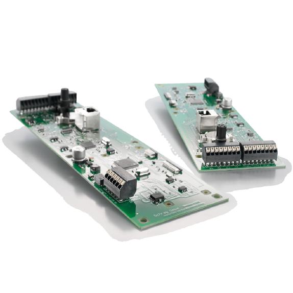 Schrag – Smarte Leiterplattenklemme für eine intelligente, Cloud-basierte Steuerung
