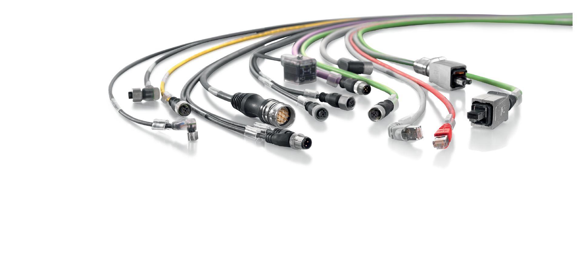 Anschlussleitungen, Patchkabel und Kabel