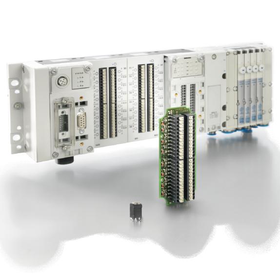 Festo社 – 空圧制御CPX-L IP20リモートI/Oモジュール